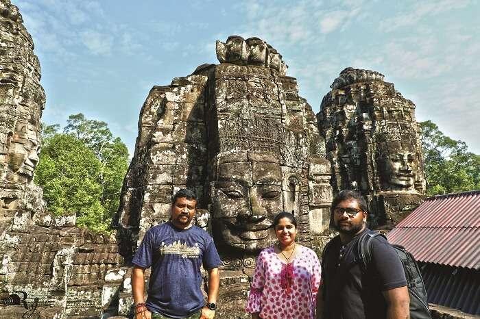 angkor wat temple family visit