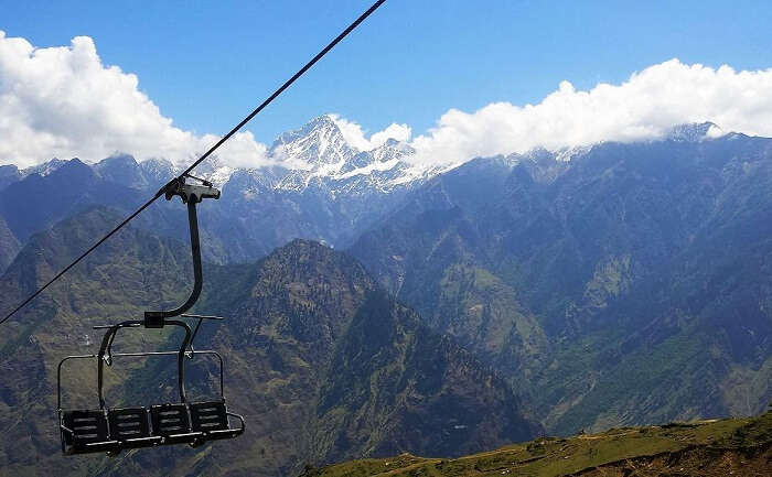 Ropeway Ride In Auli