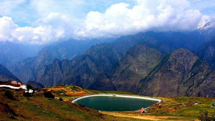 About Auli In Summer