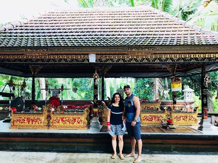 Sightseeing in Bali