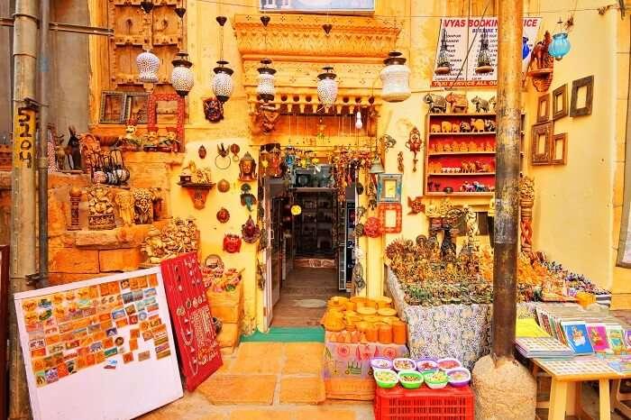 Bhatia Bazaar in Jaisalmer