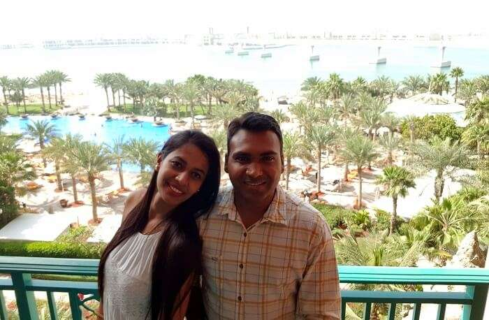 Couple at Atlantis The Palm, Dubai
