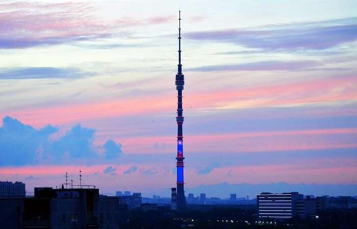 Ostankino Tower Moscow