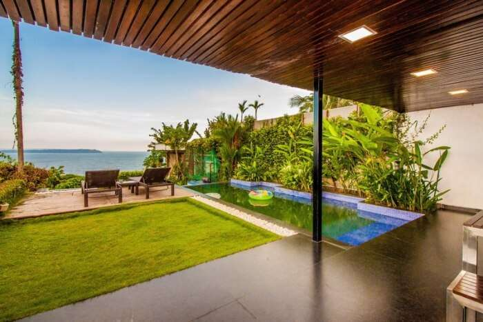 Alto Wave villa in Goa