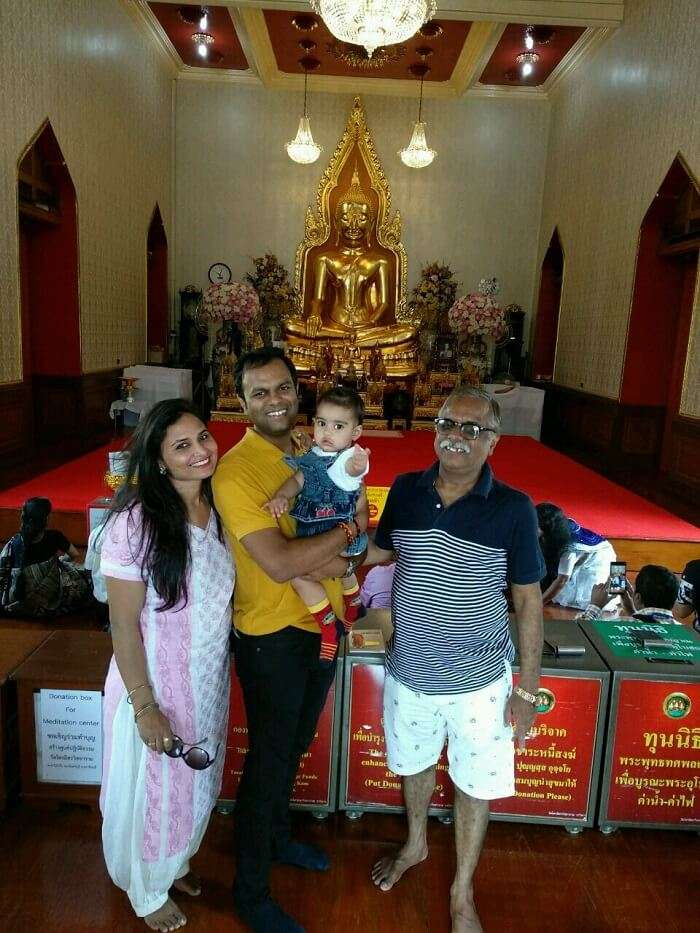family trip to Thailand