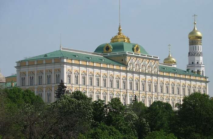 Grand Kremlin Palace View