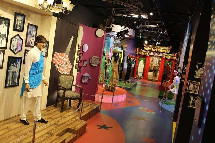 Hall of icons in Jaipur Wax Museum