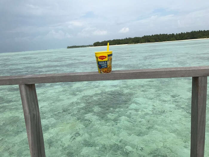 maggie noodles in maldives
