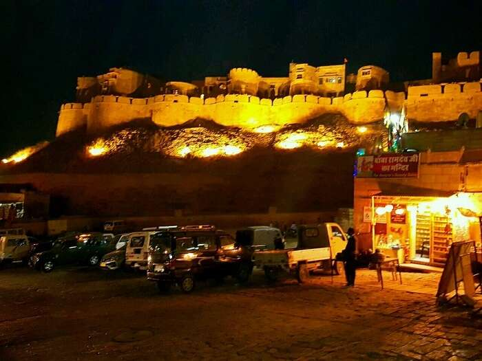 jaisalmer night