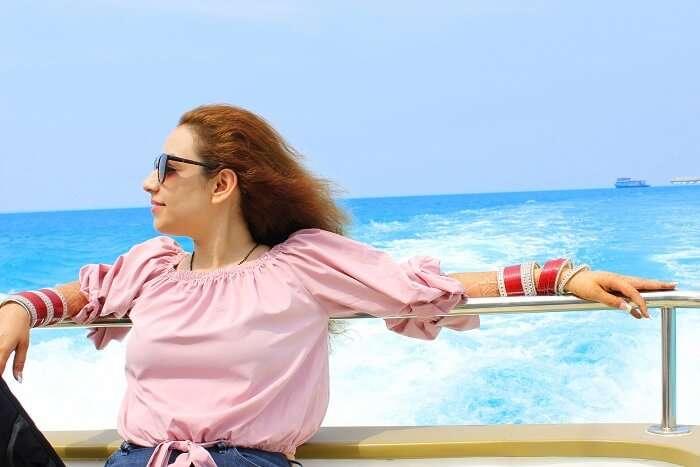 ankit wadhwa maldives honeymoon: priya yacth