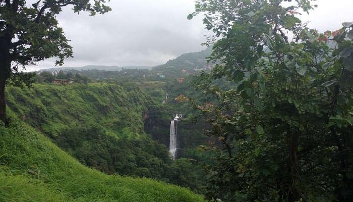 Kune falls in Lonavala