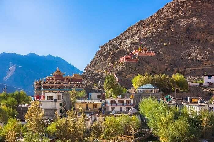 View Of Kaza