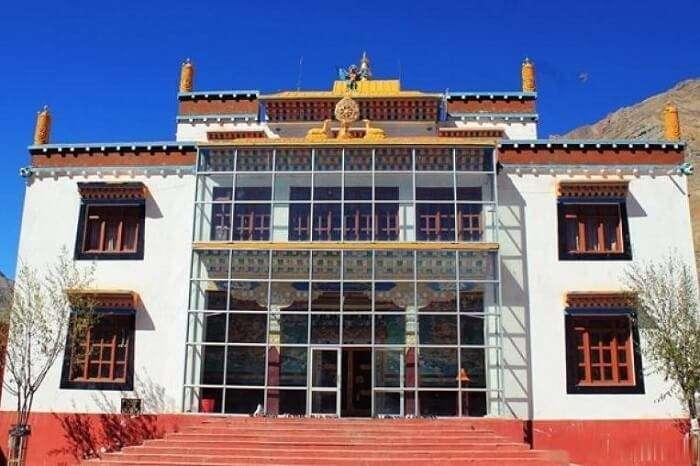 View Of Kungri Monastery