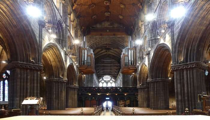 Marvel at the architectural grandeur of Glasgow Cathedral