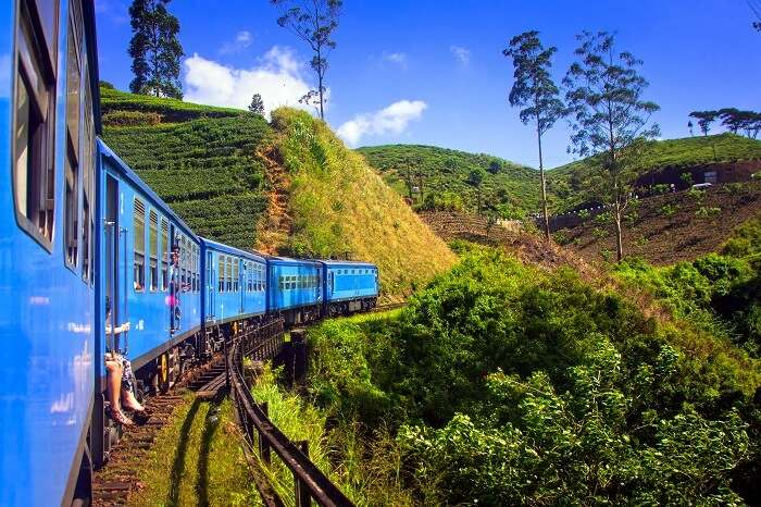 Ride That Cute Train Around Ella in sri lanka