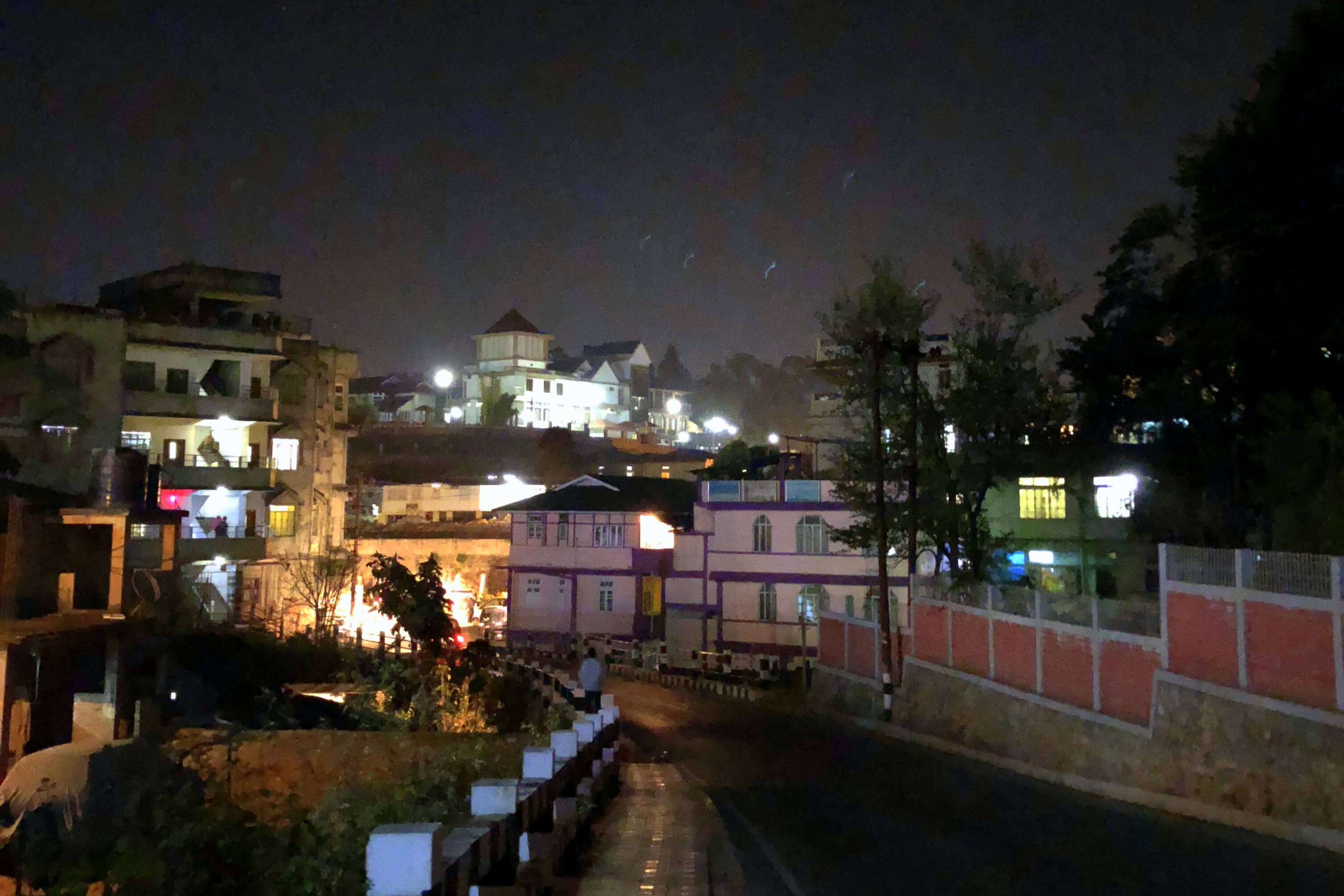 Shillong night walk