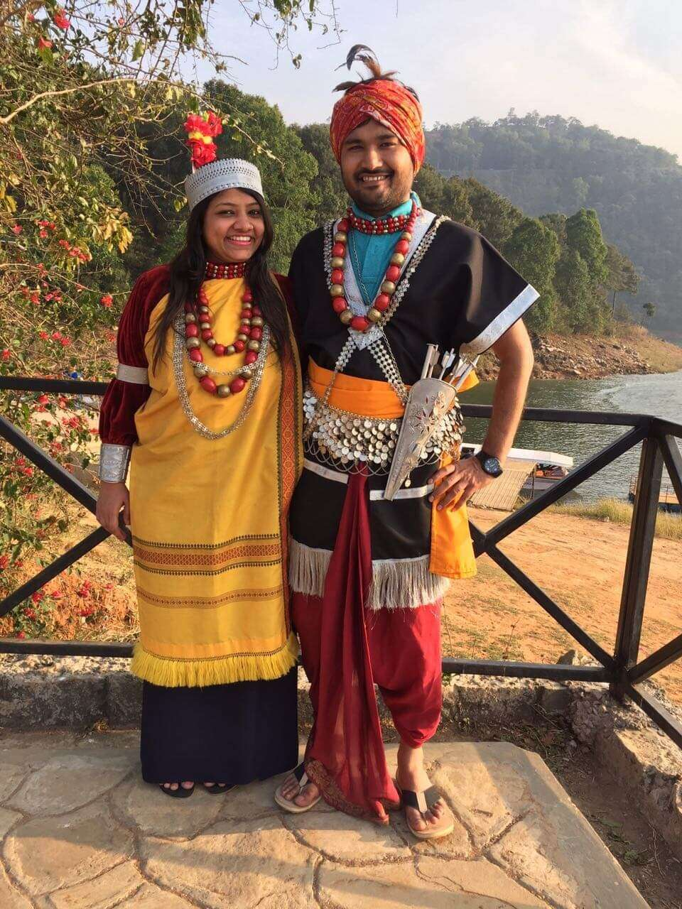 Traditional Bangaldeshi attire-001
