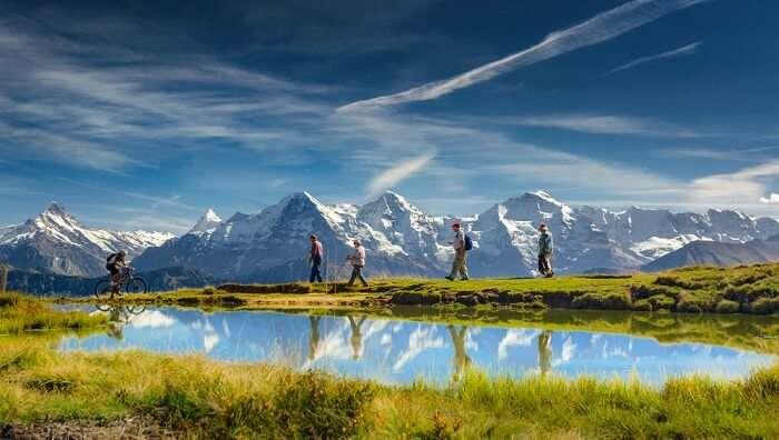 Trek in Swiss National Park