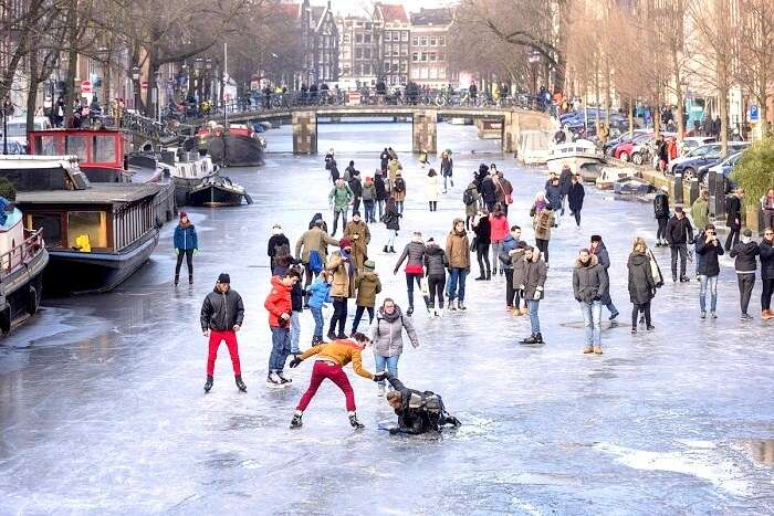 Winters in Amsterdam