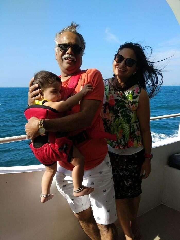 Cruise in Thailand
