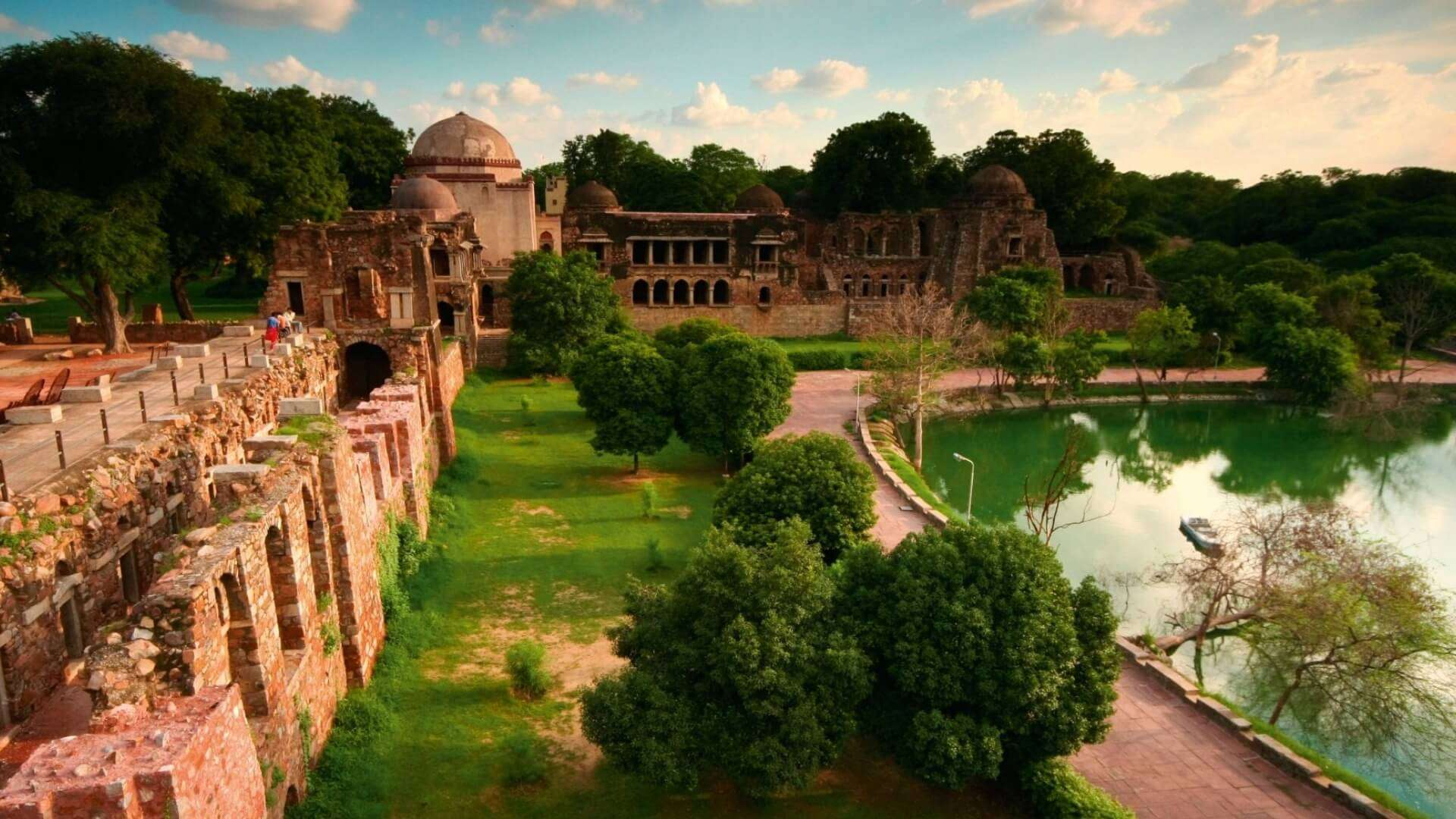 Deer Park In Hauz Khas