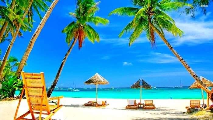 Beach at Goa India