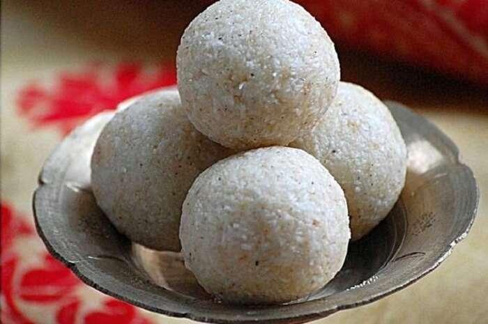 Narikolor Laru assam food