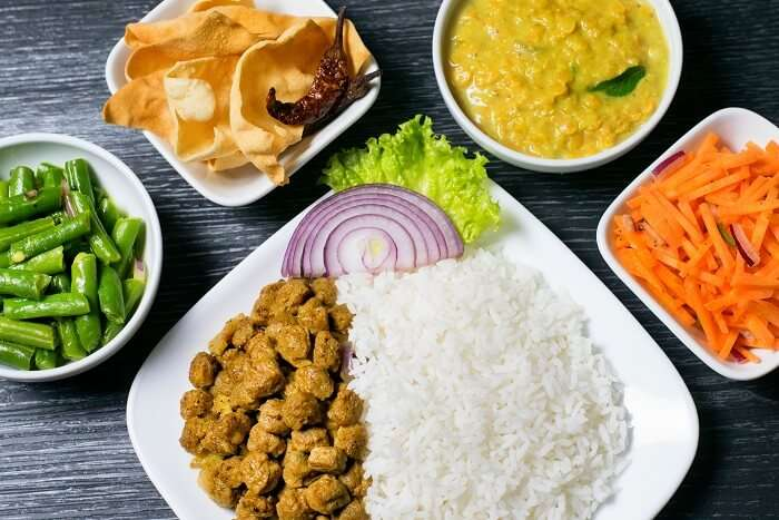 sri lanka veg food