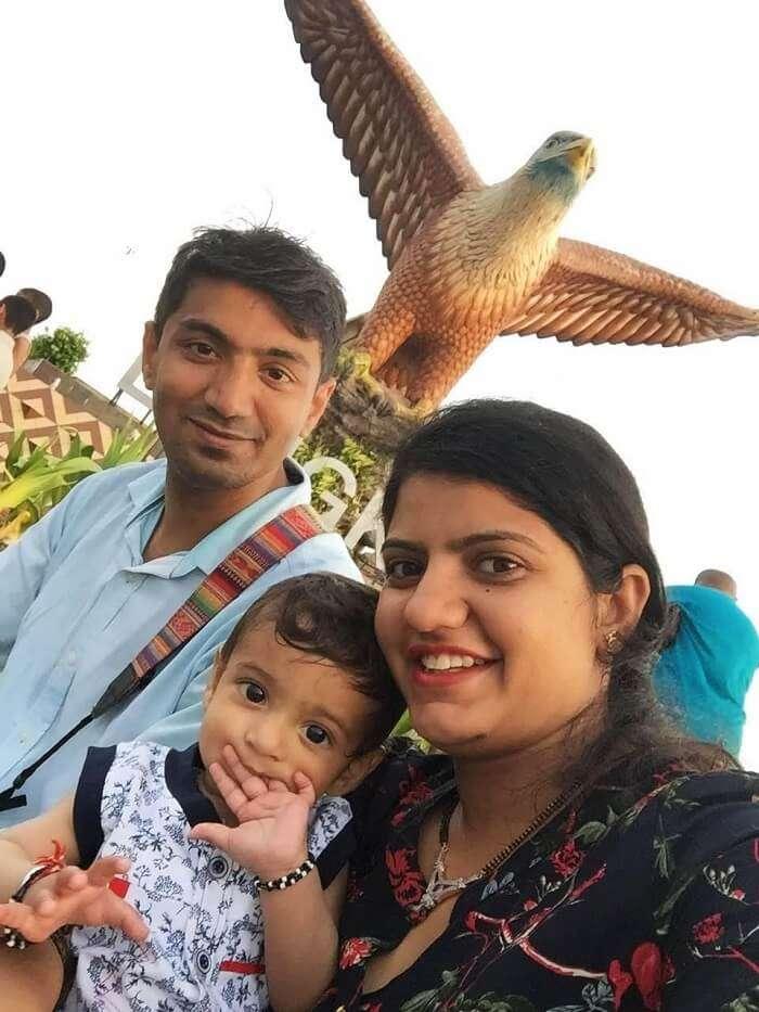 Family holidaying in Langkawi