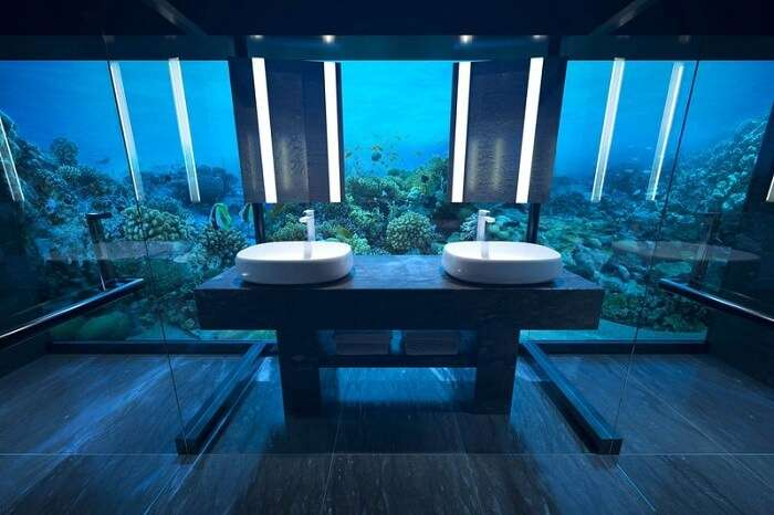 underwater suite in conrad maldives