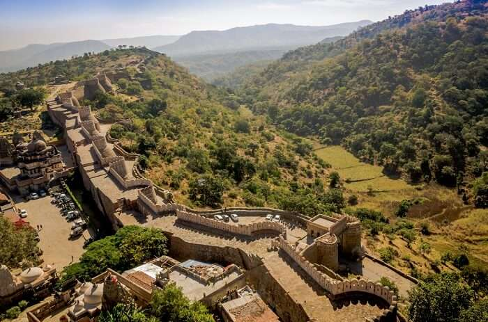 architecture of kumbhalgarh fort
