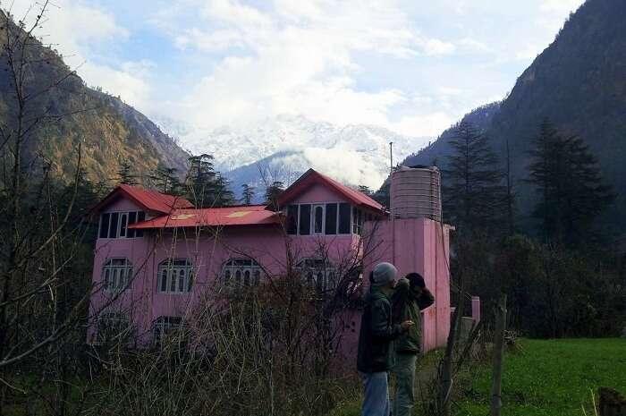 Pink House Cafe Kasol