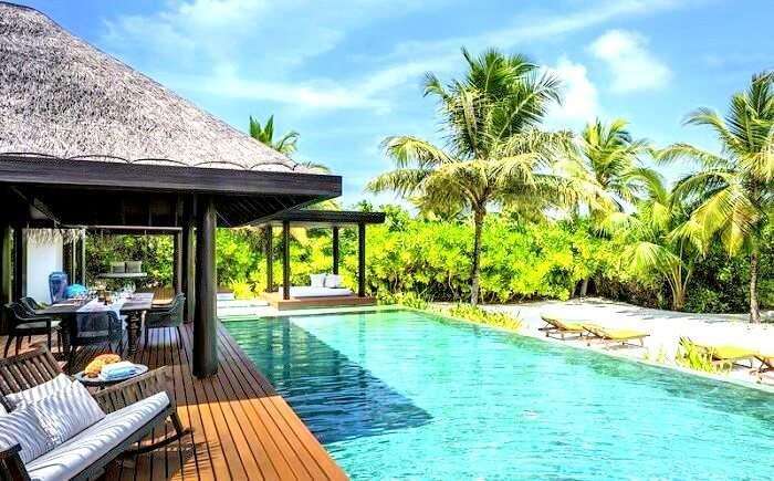 Anantara Kihavah Maldives Villas Private Pool