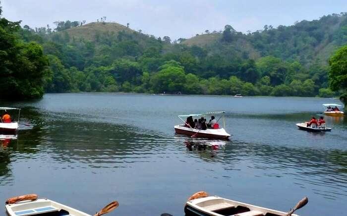 Enjoy Boating on Pookode Lake