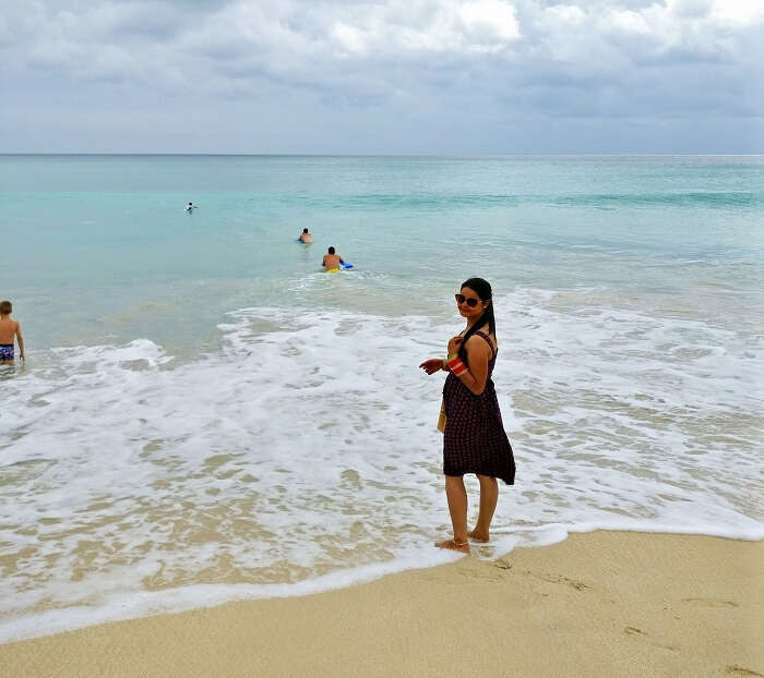 Traveler in Bali