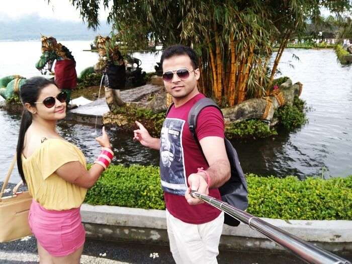 Couple in Bali