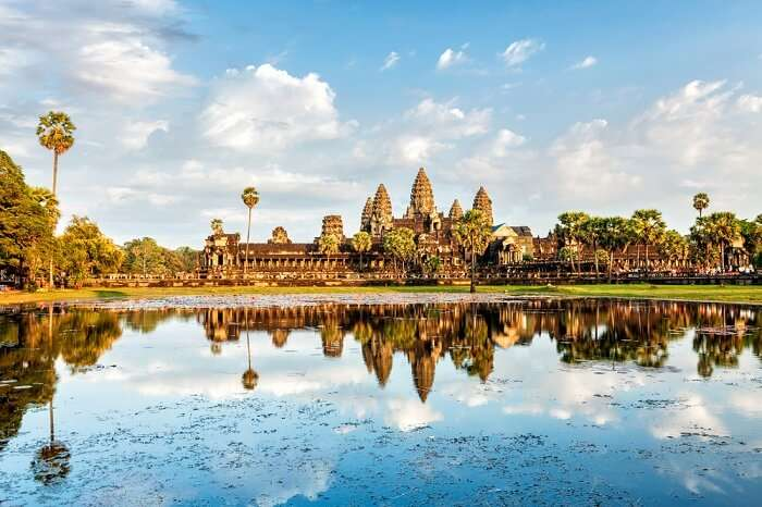 Angkor Wat Temple complex In Siem Reap
