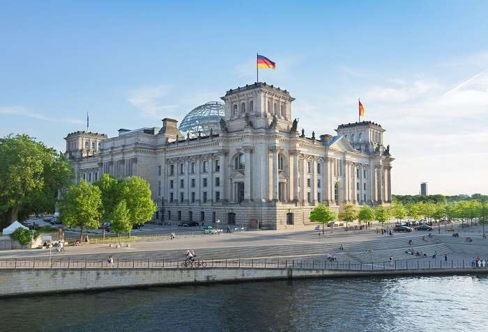 Behold the Berlin panorama from Reichstag Building