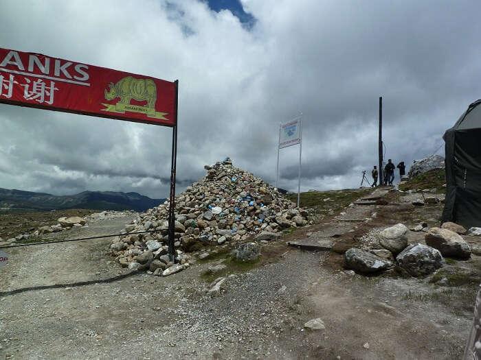 Bumla Pass In Tawang