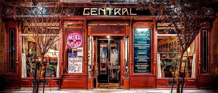 Cafe Central Madrid spain nightlife