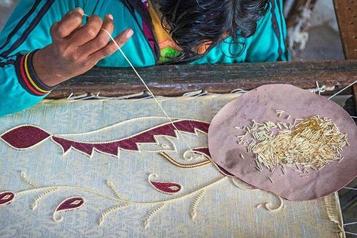 Cluny Embroidery Centre: Shopping for a good cause in pondicherry