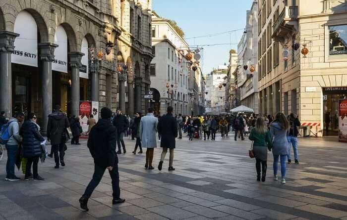 Corso Vittorio Emanuele II milan