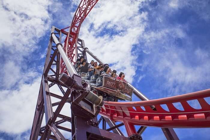 Dreamworld ride gold coast