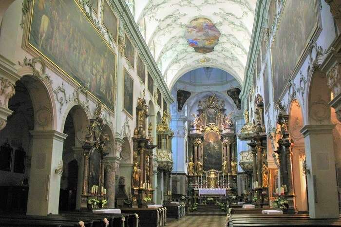 Enjoy a day at the magnificent St. Peter's Abbey salzburg