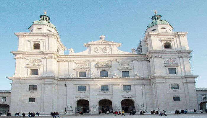 Enjoy the sights of Baroque influence at Salzburg Cathedral