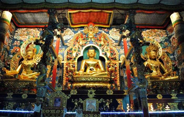 Experience Tibetan culture at the Golden Temple coorg