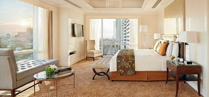 an urban or luxury sanctuary for guests