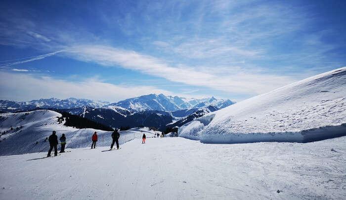 Skiing In Kirchberg