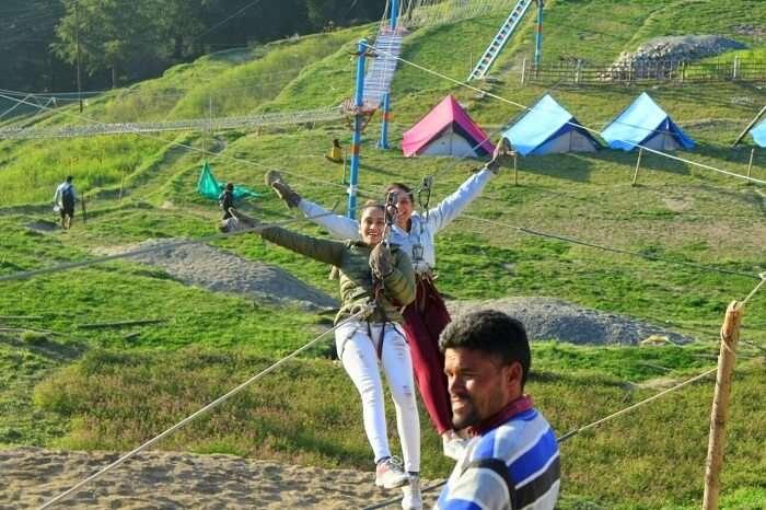 khajjiar adventure activities