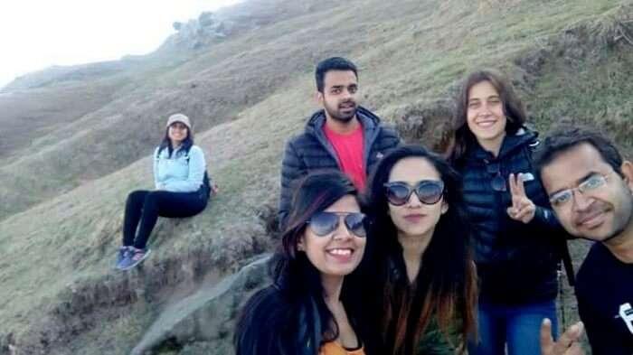 friends on a trip to khajjiar